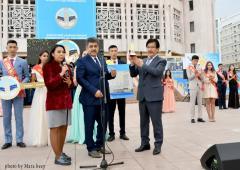 Al Farabi Kazak Devler Üniversitesi Rektörü Ordunaryüs Prof. Galim MUTANOV